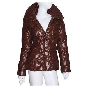 Happy Goat Lucky Coat NWT Small Brown Jacket